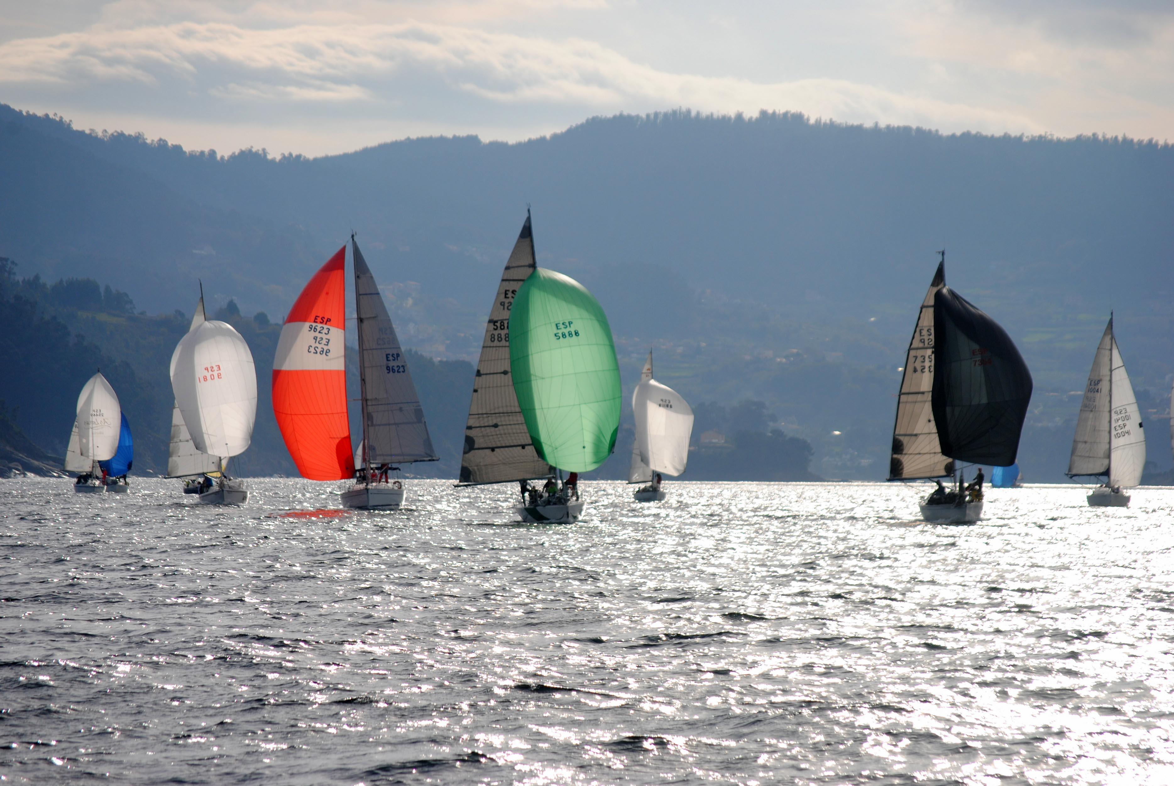 Oral Group Galimplant, Grifo, O Filispín  y Oliver II se imponen en el Trofeo Navidad del Club de Mar de Aguete