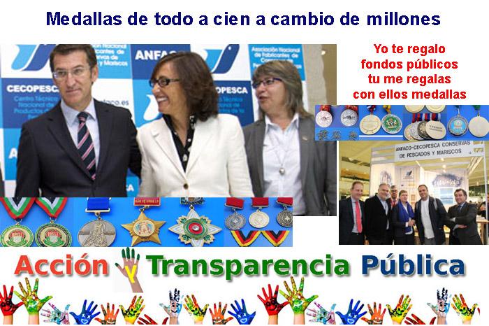 medallas anfaco cecopesca PPdeG FondosPublicos
