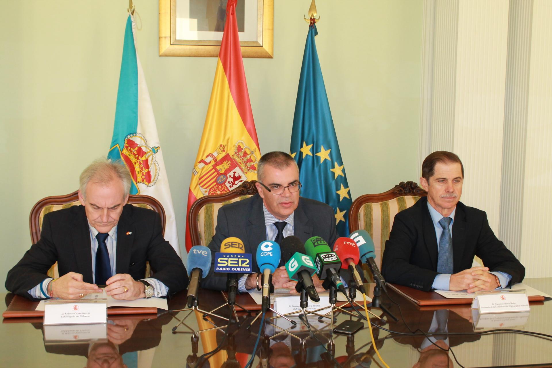 El Ministerio de Agricultura, Alimentación y Medio Ambiente invertirá 500.000€ en actuaciones de emergencia en la provincia de Ourense