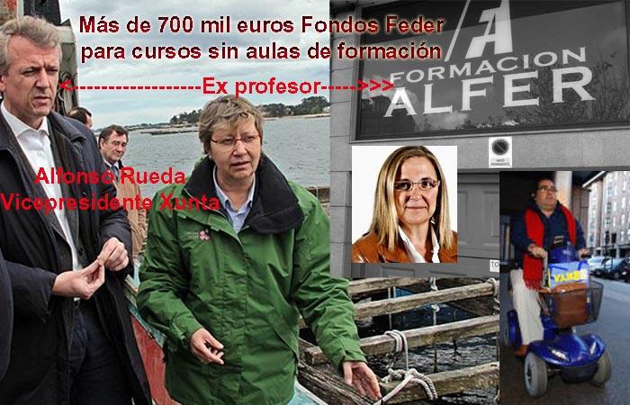 A moción de censura do PP en Tui é un asalto á democracia orquestado polo vicepresidente da Xunta, Alfonso Rueda, exprofesor de Alfer, cursos subvencionados sin aulas de formación.