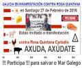 PLADESEMAPESGA ESTA CO SECTOR DO MAR NA MANIFESTACIÓN CONTRA ROSA QUINTANA
