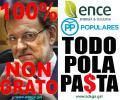 O Goberno de Alberto Núñez Feijóo (PPdeG) encubre datos falsos de ENCE para protexela e que siga contaminando a Ría de Pontevedra e os bancos marisqueiros arruinando a riqueza autoctona.