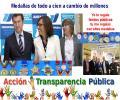ANFACO-CECOPESCA provoca ríos de compromisos políticos a cambio de medallas para hacerse con subvenciones recibidas de fondos públicos llegando a meterse en el mismo Parlamento de Galicia como si de una trama política se tratase
