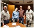 ATME Zaragoza se reúne con el diputado en las Cortes de Aragón, Carlos Gamarra y el consejero de Movilidad y obras Públicas del Consejo Ciudadano PODEMOS Aragón, Aitor Mina