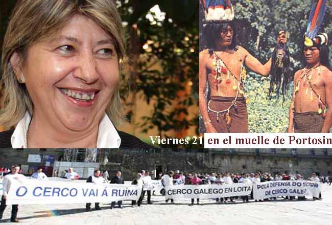 pediran la cabeza politica de Rosa Quintana en Portosin