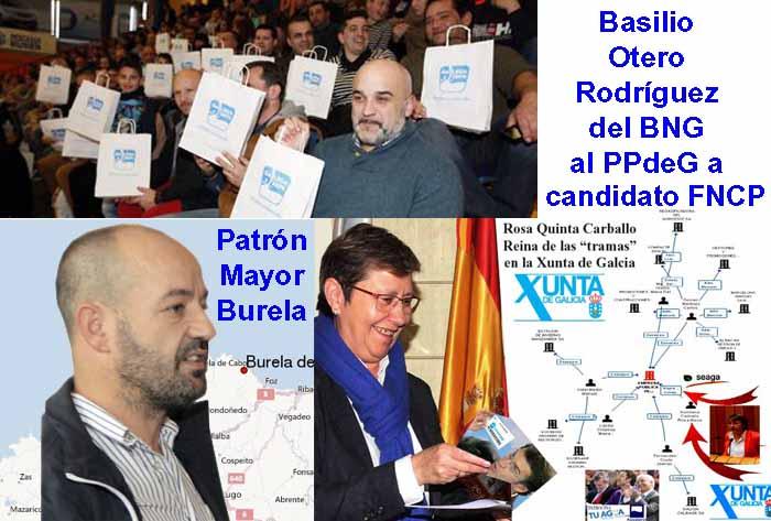 Basilio Otero Rodríguez, del BNG al PPdeG propuesto por Rosa Quintana por  sus afinidades al PP para candidato a la FNCP, sin actividades laborales  conocidas que justifiquen su alta en la Seguridad