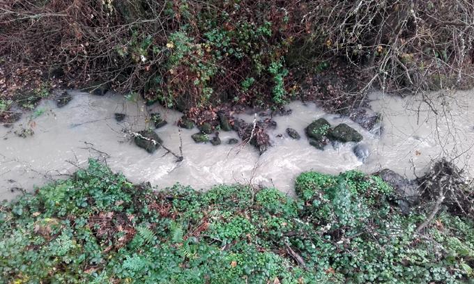 El río Pesqueiras se encuentra en estado de abandono por causa de ...